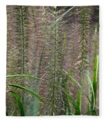 Bottle Brush Grass Fleece Blanket