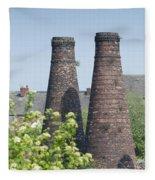 Bottle Kilns Fleece Blanket