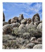 Boulder Populated Fleece Blanket
