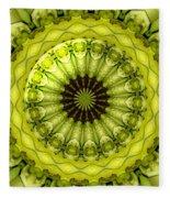 Bouquet Of Roses Kaleidoscope 11 Fleece Blanket