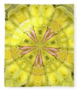 Bouquet Of Roses Kaleidoscope 12 Fleece Blanket