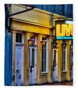 Bourbon Live - French Quarter Fleece Blanket