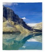 Bow Lake,alberta,canada Fleece Blanket