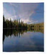 Bow Tie In The Sky Fleece Blanket
