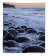 Bowling Ball Beach Fleece Blanket