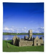 Boyle Abbey, Ballina, Co Mayo Fleece Blanket