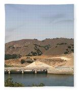 Bradbury Dam Fleece Blanket