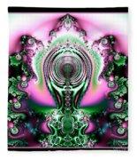 Brain Power Full Of Ideas Fractal 117 Fleece Blanket