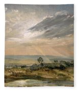 Branch Hill Pond Hampstead Fleece Blanket