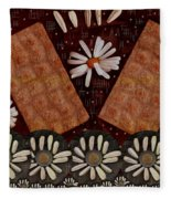 Bread And Summer Fleece Blanket