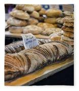 Bread Market Fleece Blanket