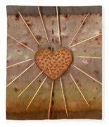 Bread  Sunshine And Love Fleece Blanket