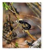Breeding Bees Fleece Blanket