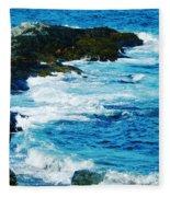 Brenton Point State Park Newport Ri Fleece Blanket