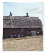 Brick Barn Fleece Blanket