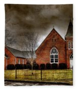 Brick Church Fleece Blanket