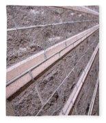 Brick Rays Fleece Blanket