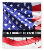 Bridge-builder Fleece Blanket