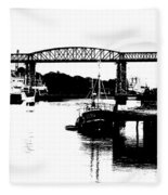 Bridge On The Boyne Fleece Blanket