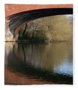 Bridge Reflections Fleece Blanket