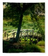 Bridge To Heaven Fleece Blanket