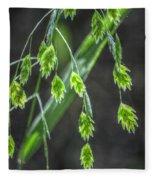Bright Baby Leaves  Fleece Blanket