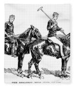 Brighton Polo Club, 1877 Fleece Blanket