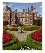 British Garden  Fleece Blanket