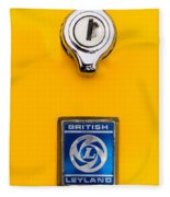 British Leyland Fleece Blanket