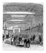 British Museum, 1845 Fleece Blanket