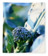 Broccoli Sprout Fleece Blanket