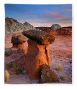 Brokentop Hoodoo Sunset Fleece Blanket