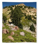 Brokeoff Mountain Fleece Blanket