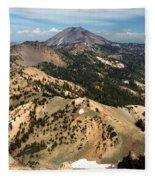 Brokeoff Mountain Scenery Fleece Blanket