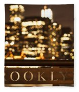 Brooklyn Bubbly Fleece Blanket