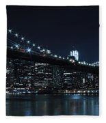 Brooklyn Nights Fleece Blanket
