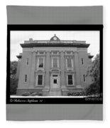 Brunswick Historical Court House Fleece Blanket