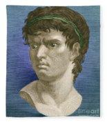 Brutus, Roman Politician Fleece Blanket