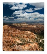 Bryce Canyon Ampitheater Fleece Blanket