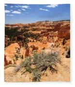 Bryce Canyon Overlook Fleece Blanket