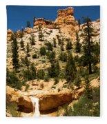 Bryce Water Canyon Fleece Blanket