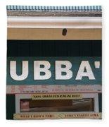 Bubba Burgers Fleece Blanket