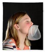 Bubblegum Bubble 5 Of 6 Fleece Blanket