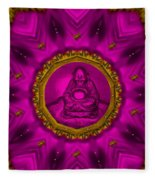 Buddha Also Love The Nature Fleece Blanket