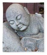 Buddha Fleece Blanket