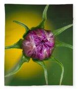 Budding Flower Fleece Blanket