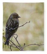 Budding Spring Song Fleece Blanket