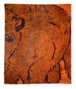 Buffalo Art Fleece Blanket