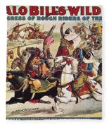 Buffalo Bill: Poster, 1899 Fleece Blanket
