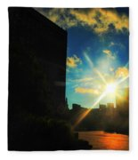 Buffalo Ny Awakening  Fleece Blanket